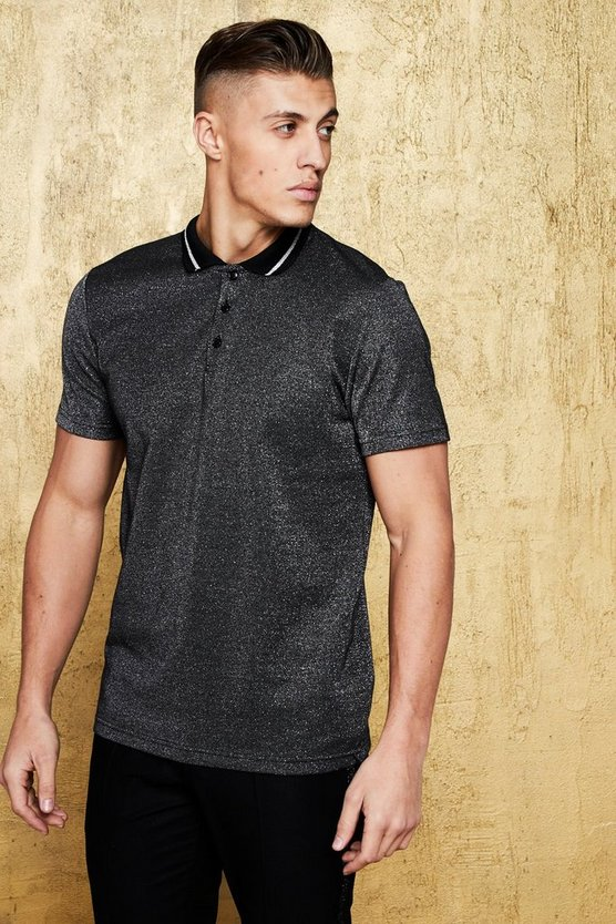 Metallic Party Smart Polo