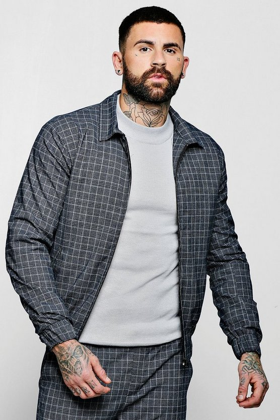 Jaspe Check Smart Coach Jacket