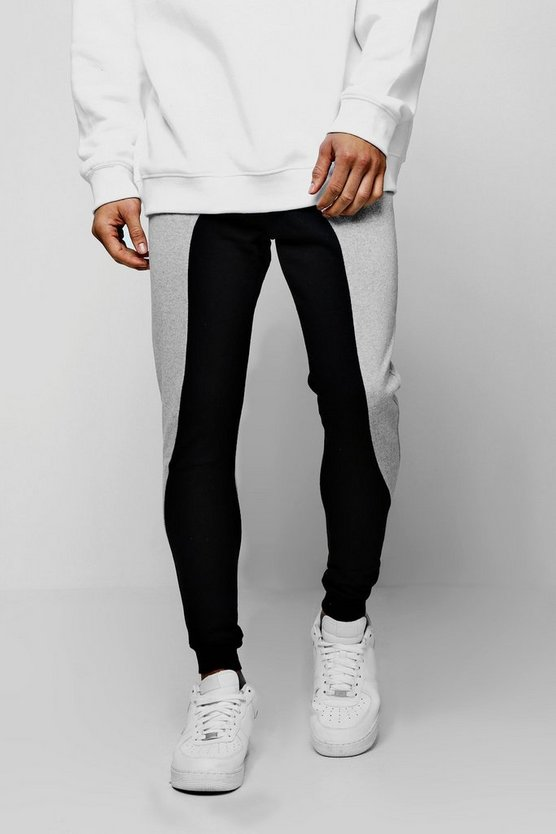 Drop Crotch Colour Block Jogger