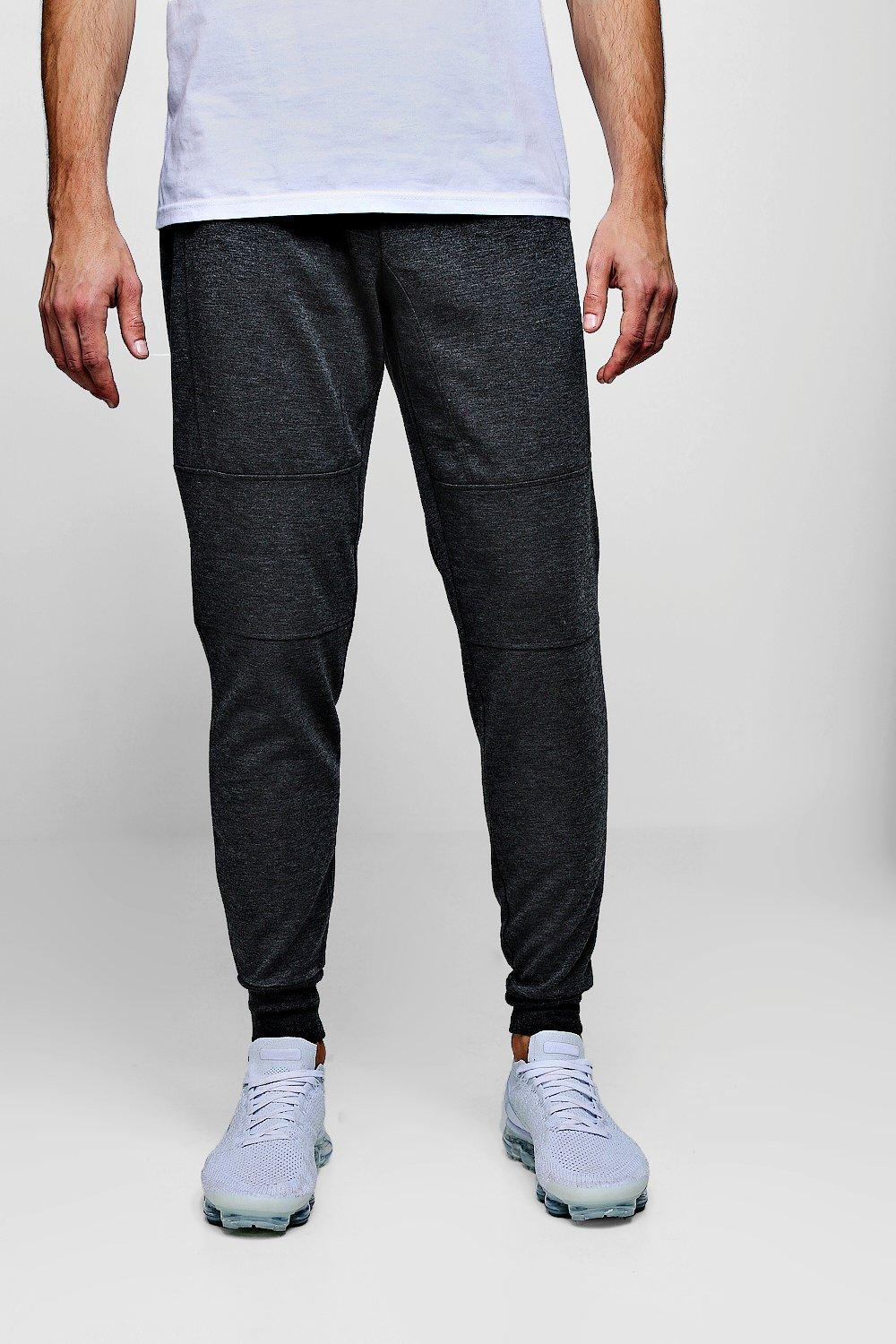 Panel Jersey Panel Detail Jersey Joggers Joggers charcoal Detail RwzFBqngZ