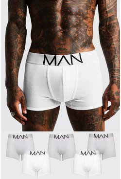 Multi Grey 5 Pack MAN Boxers