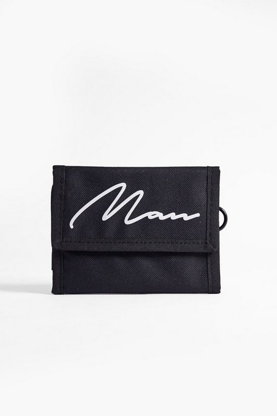 MAN Printed Nylon Rip Tape Wallet