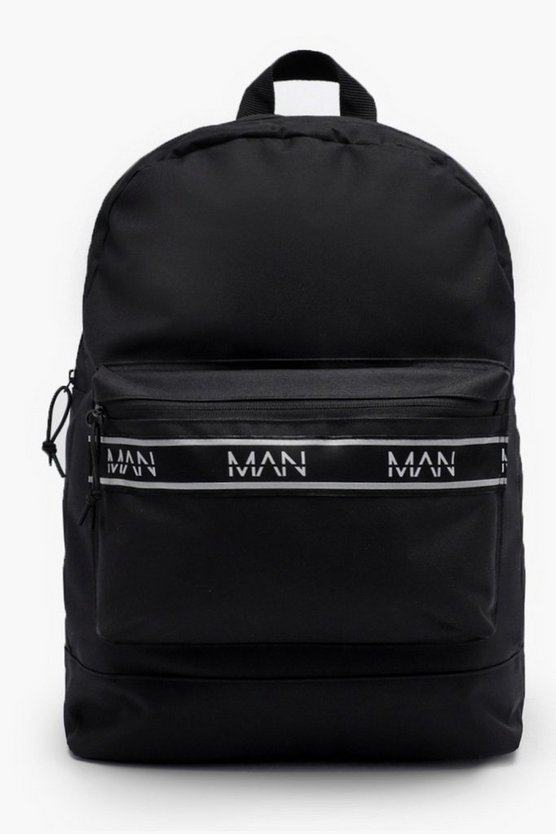 Nylon Rucksack With MAN Webbing