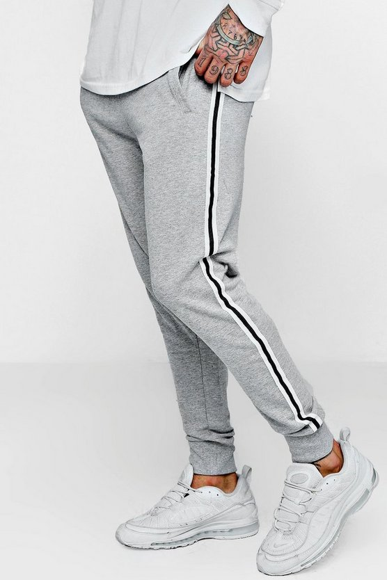 Fleece Jogger with Side Tape