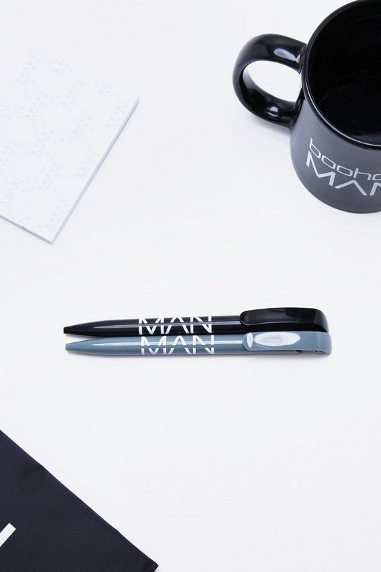 Man Stationary 2 Pack Ballpens