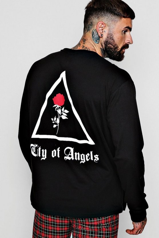 Loose Fit City of Angles Long Sleeve T-shirt