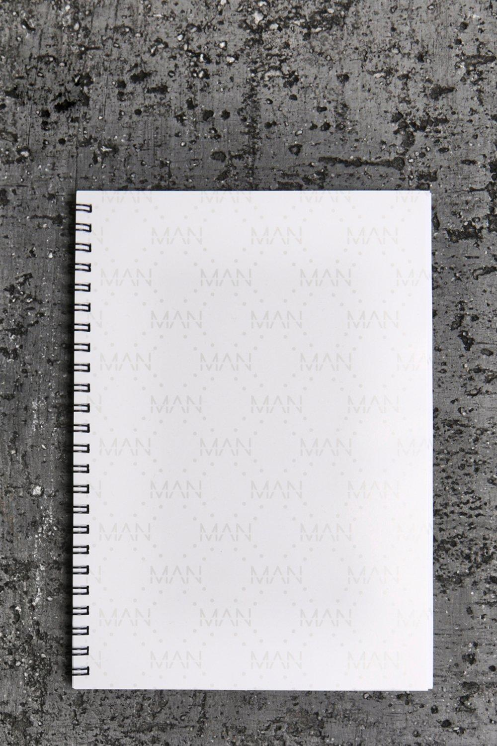 Man Stationary A5 Notepad