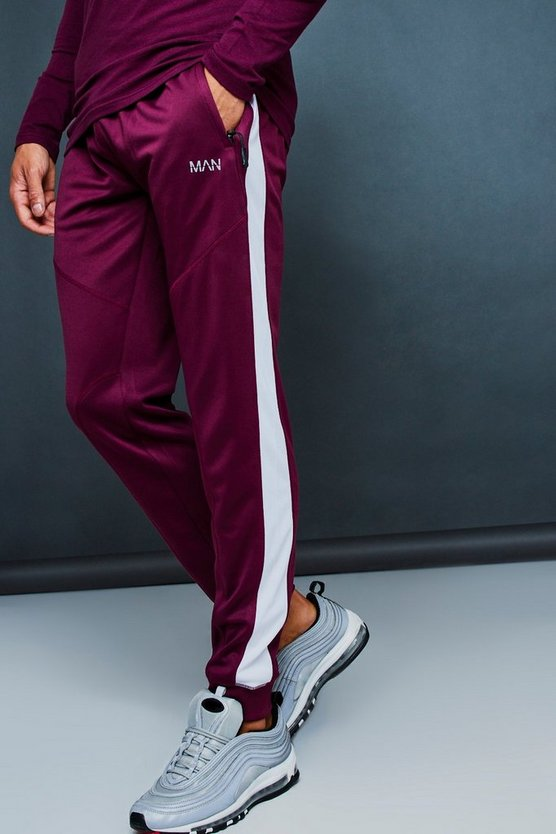 Active Gym Jogger With Side Panel