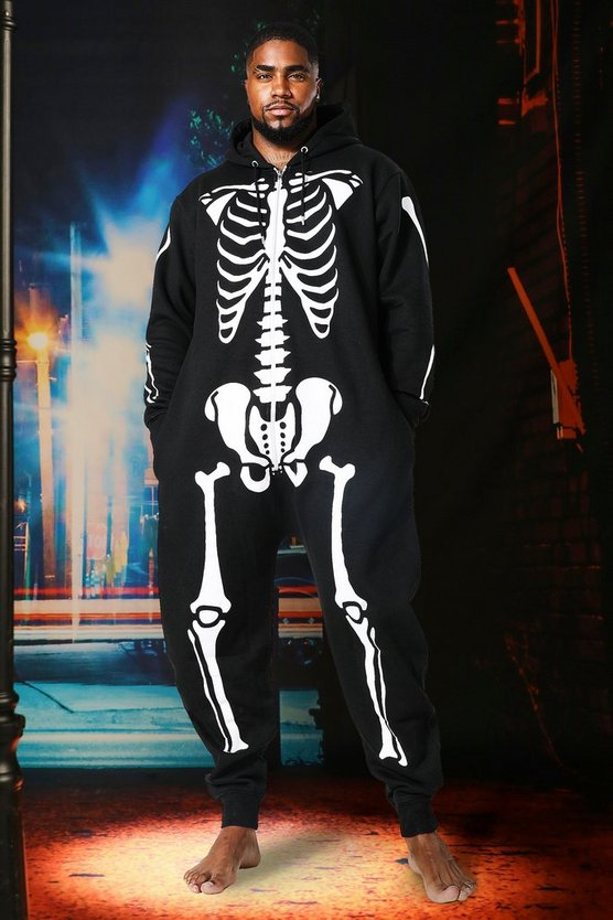 Big & Tall Skeleton Onesie