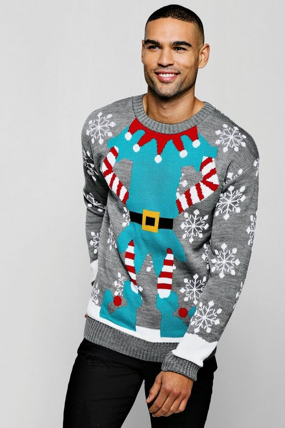 Elf Christmas Jumper