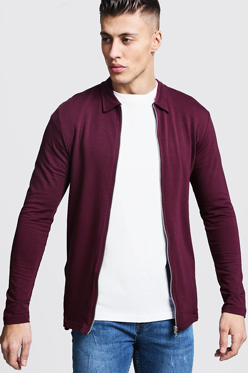 Muscle Fit Jersey Harrington
