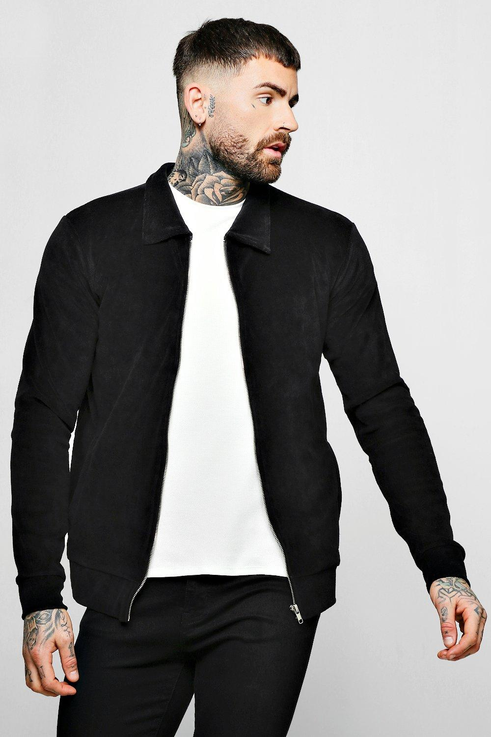 Velour Jersey Harrington