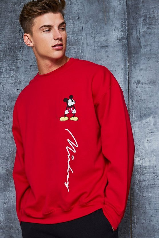 Disney Mickey Signature Oversized Sweater