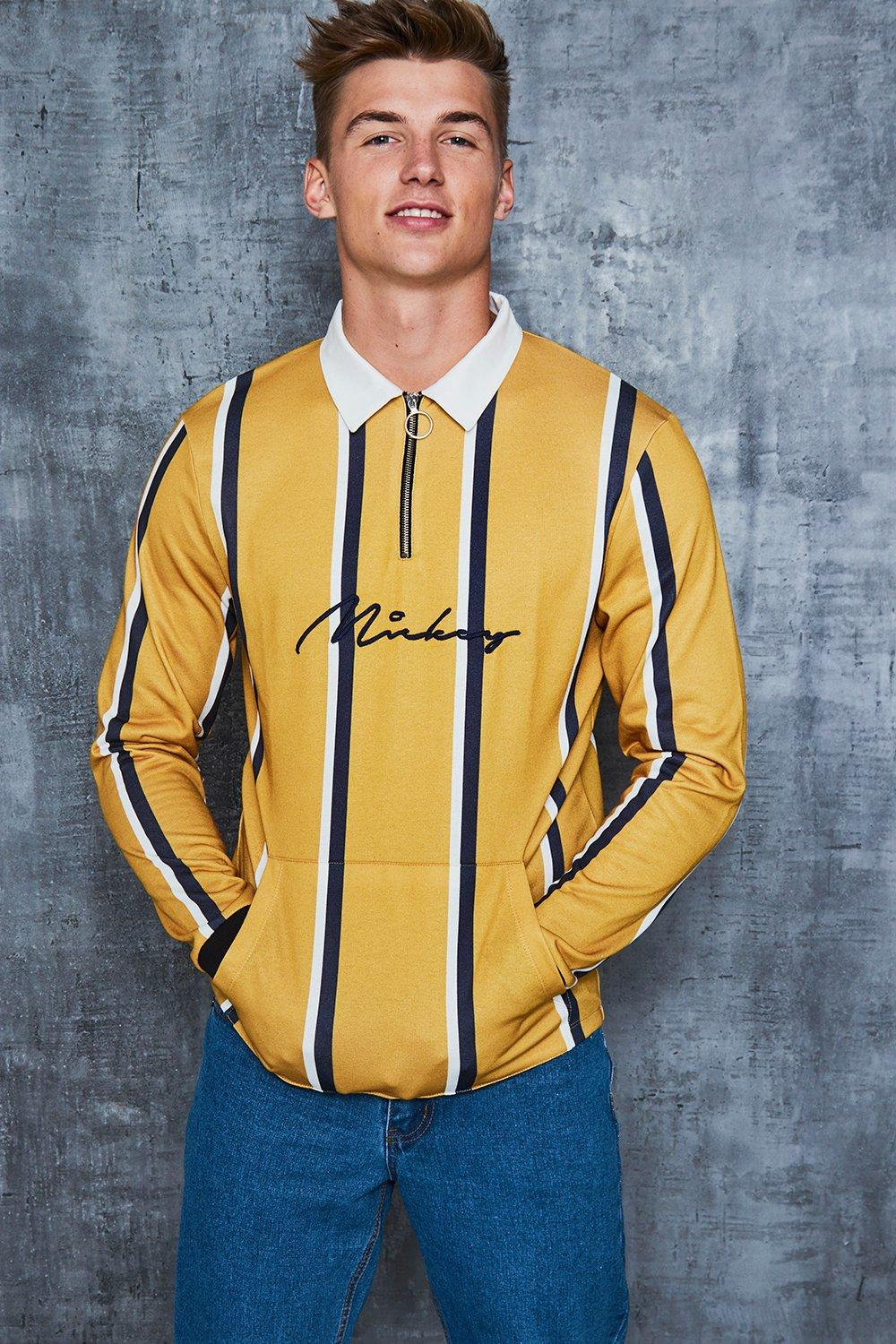 Disney Mickey Signature Stripe Rugby Top