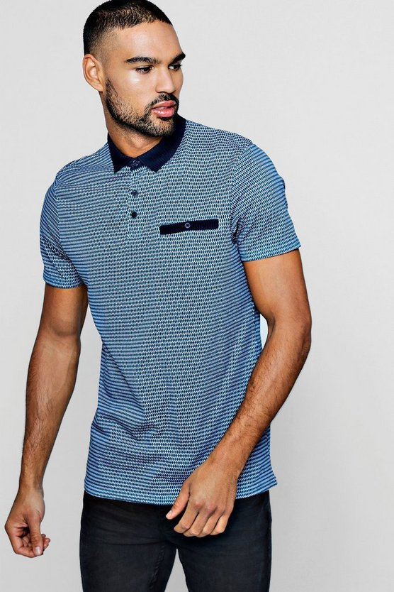 All Over Print Polo