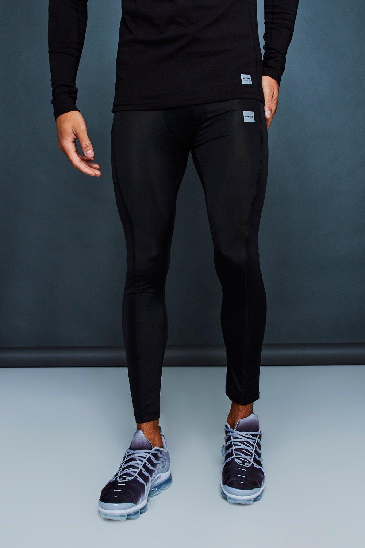 Gym Tight Reflective black Print Active With fdwBqdz
