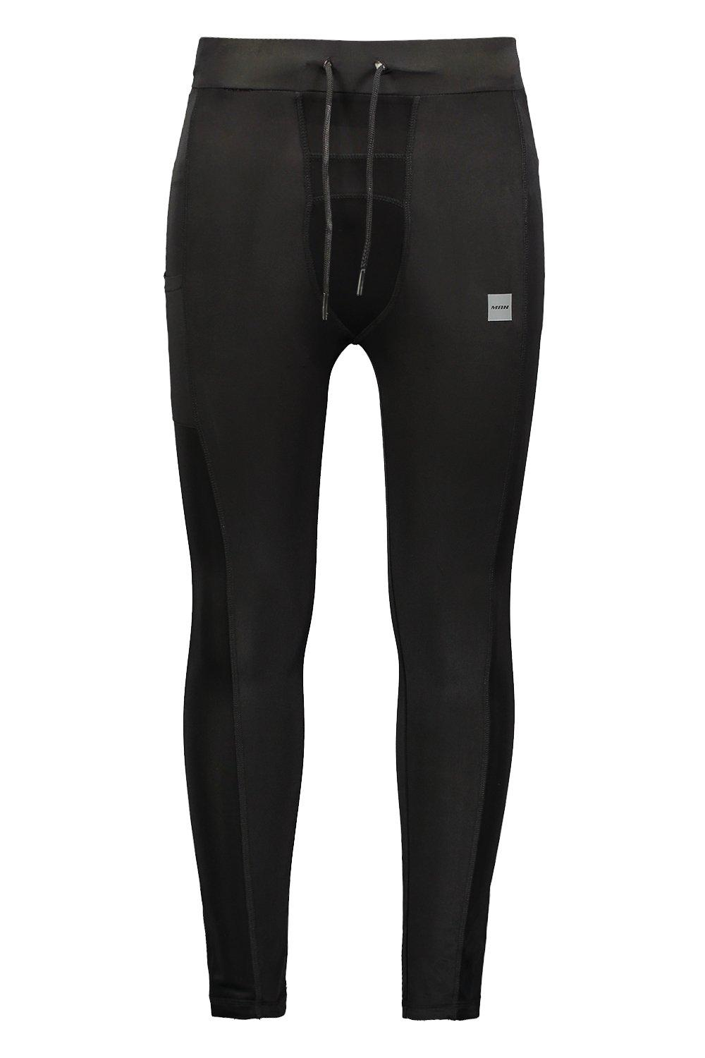 Gym Tight Reflective black Print Active With fdwBqdz