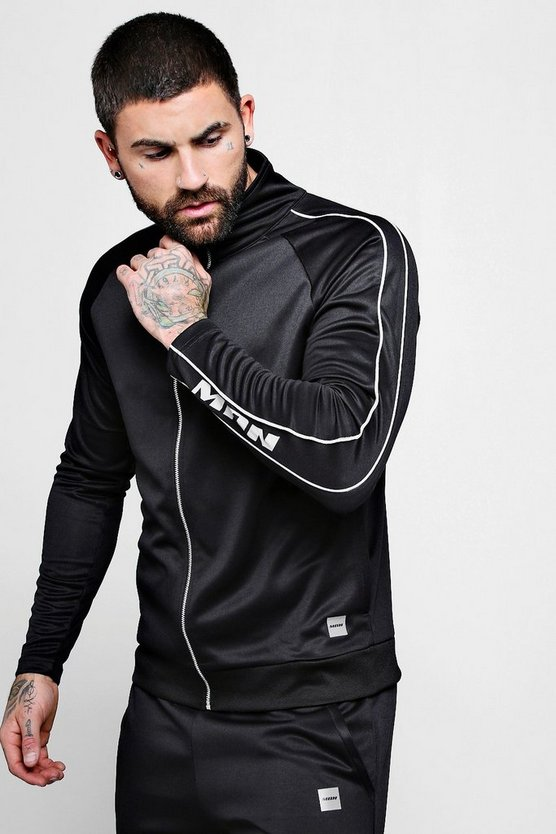 MAN Active Gym Funnel Neck Top