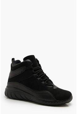 Irisé Pu Homme Boohoo Lacets Sneaker HommesChaussures 6bgmvI7Yfy