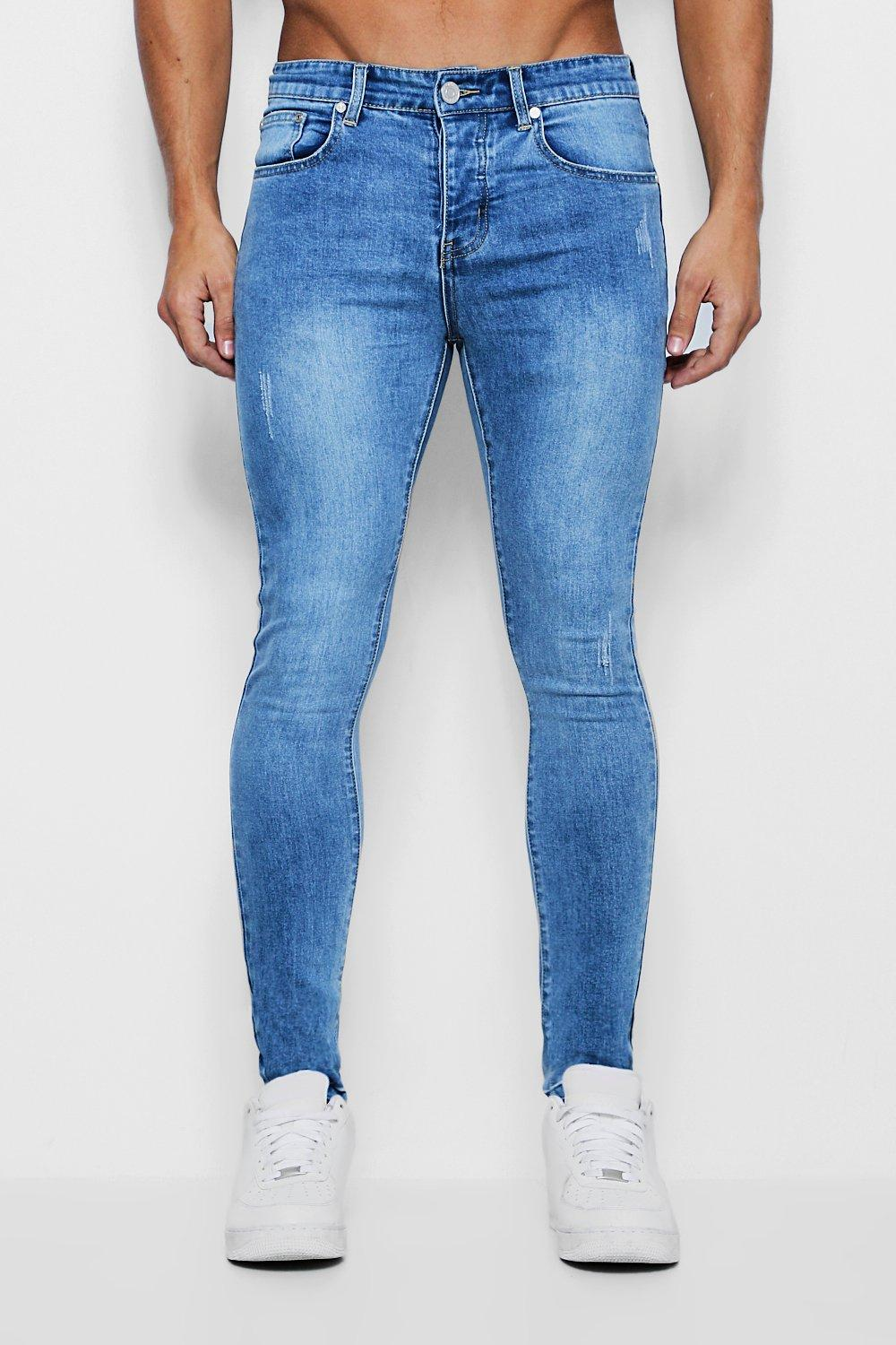 Super Skinny Jeans with Let Down Hem