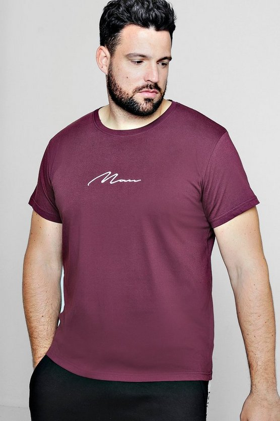 Big And Tall MAN Signature T-Shirt