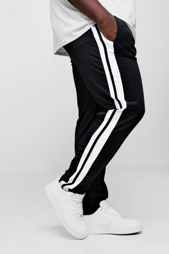 Big And Tall Skinny Fit MAN Signature Joggers