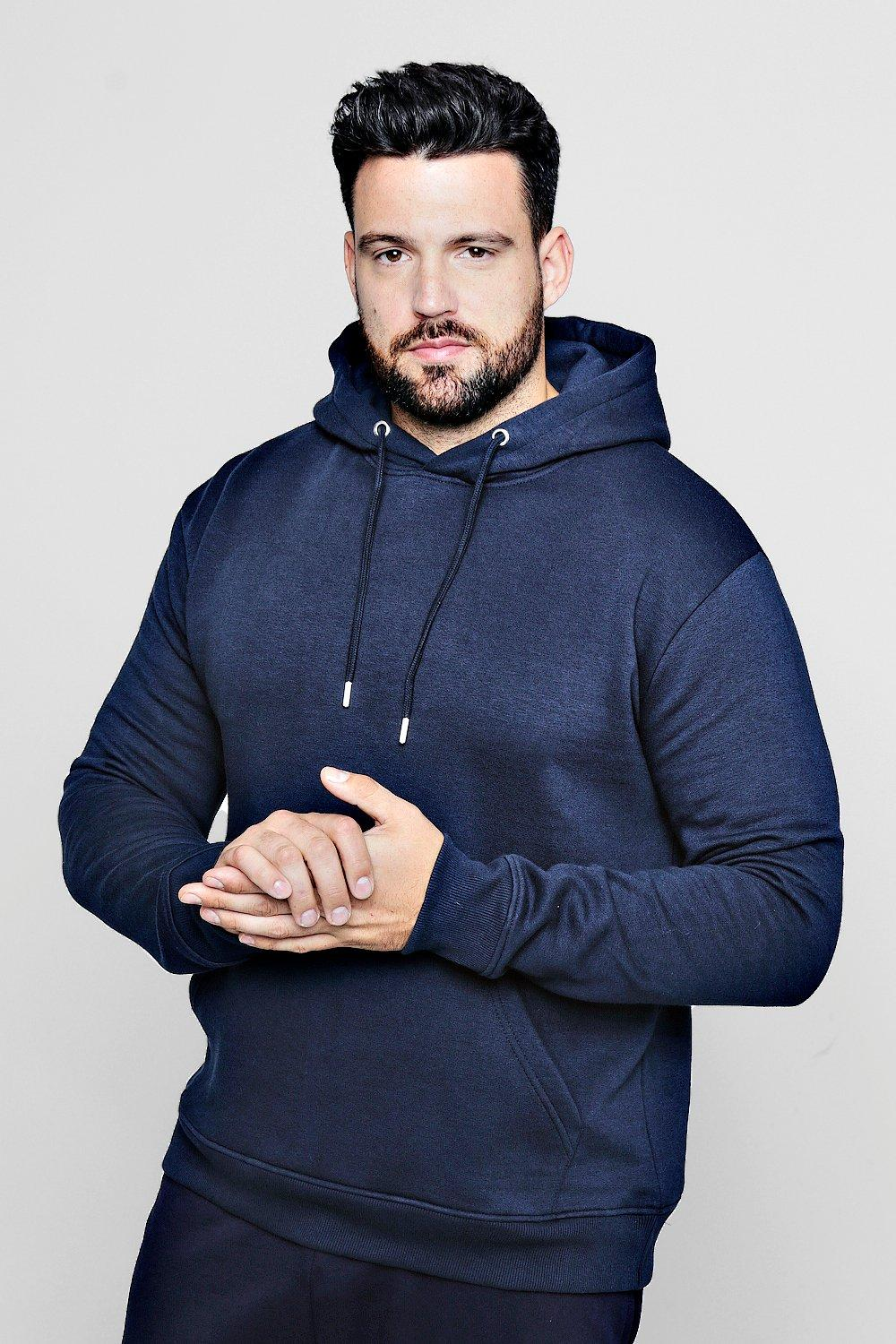 Big And Tall Basic Over The Head Hoodie