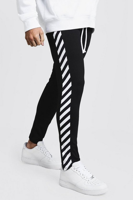 Side Stripe Tricot Joggers