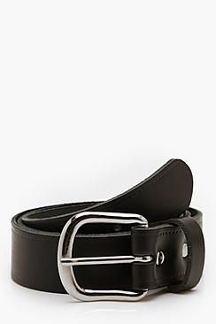 Real Leather Classic Belt