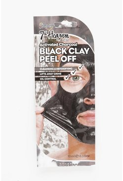 Mens Black Men's Activated Charcoal Peel Off Mask