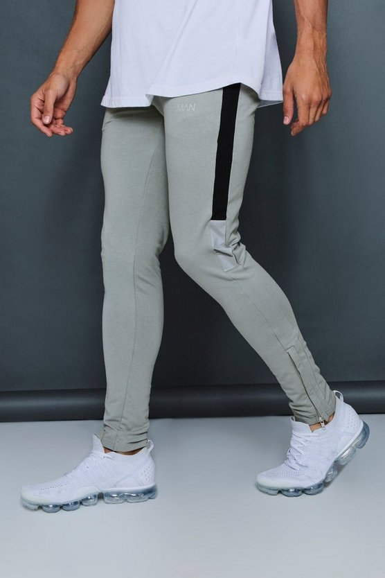 Muscle Fit Jogger With Reflective Detail