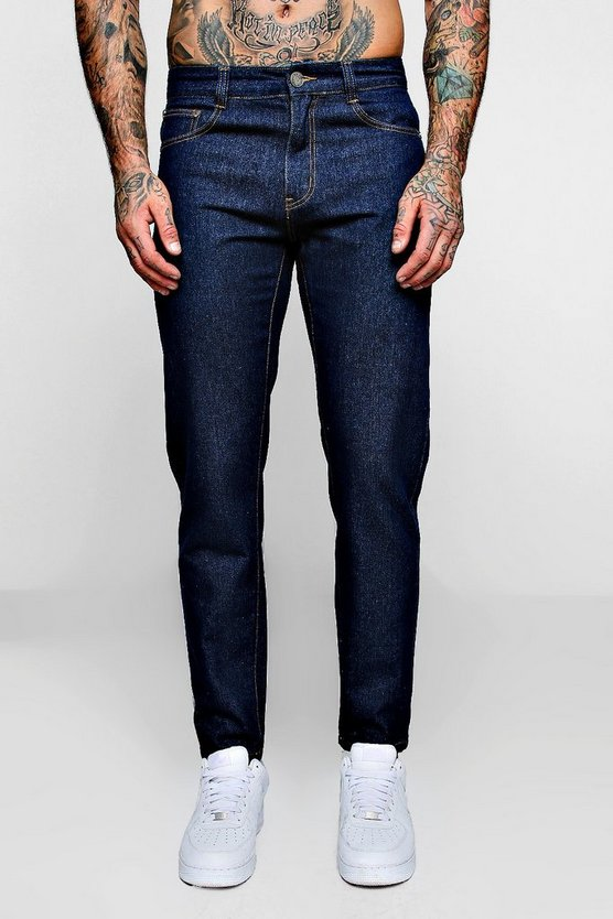 Slim Fit Denim Jeans In Indigo