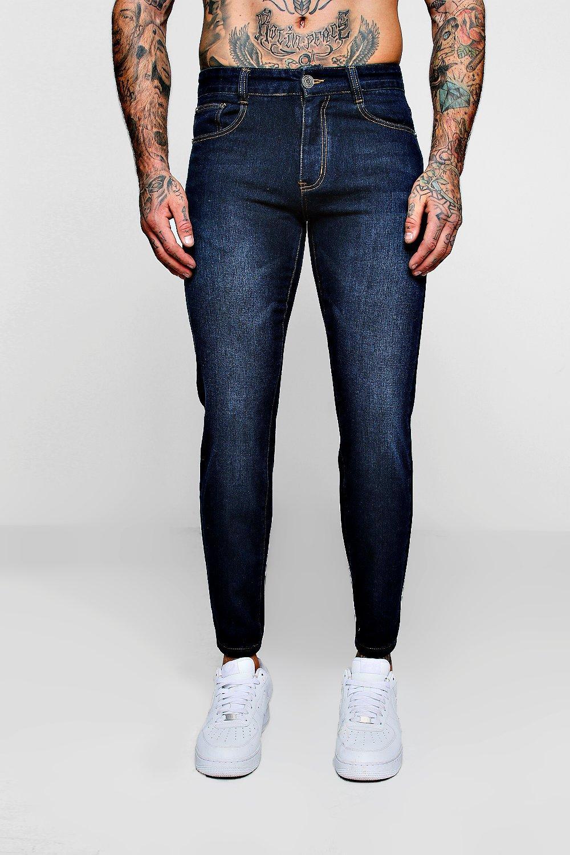 marino Jeans pitillo Azul marino azul denim en wSUqqxIv6