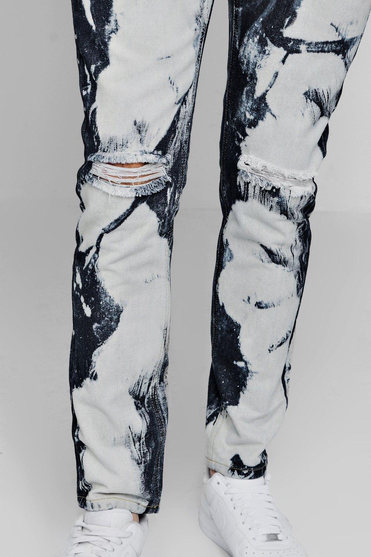 Jeans índigo muy skinny desteñidos Jeans skinny z7qHFgwz