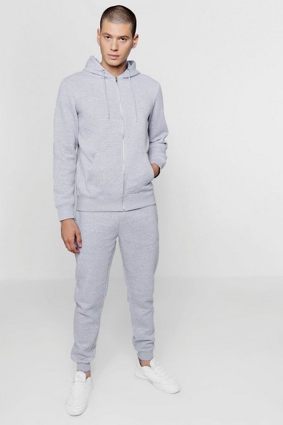 Zip Through Fleece MAN Tracksuit