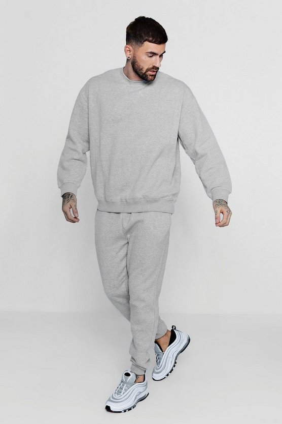 Oversized Fleece Sweater MAN Tracksuit