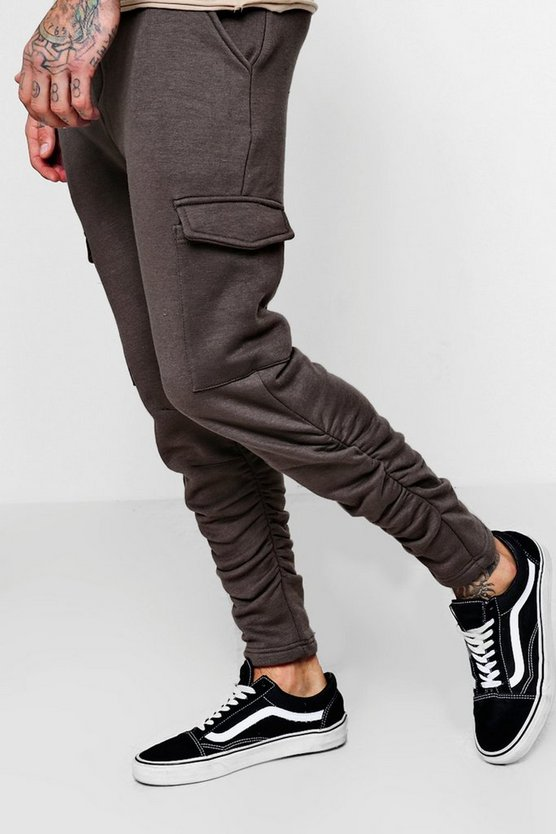 Skinny Combat Jersey Joggers
