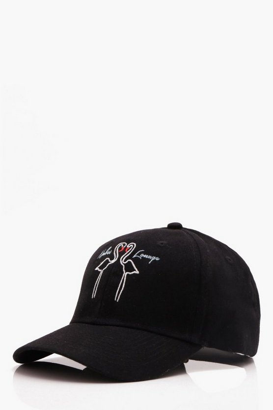 Flamingo Embroidered Cap