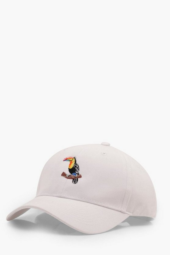 Toucan Embroidered Cap