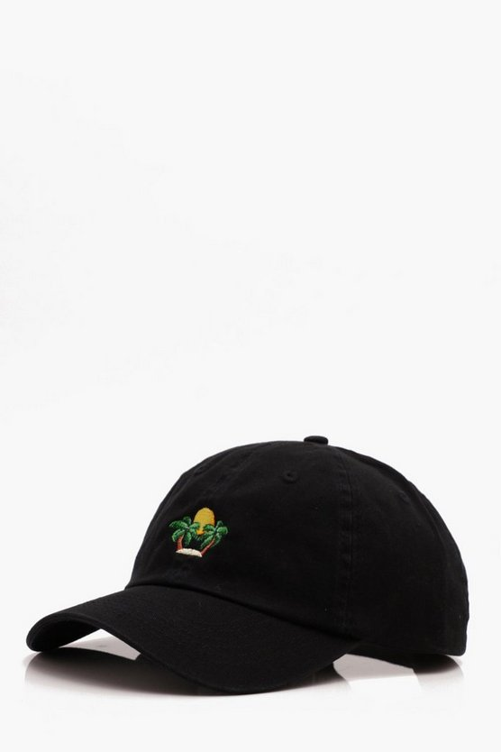 Sunset Embroidered Cap