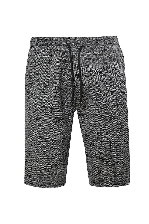 Shorts oscuro de gris moteados elegantes correr rwqCXaYx6r