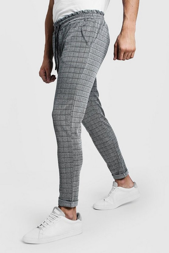 Square Check Trouser Jogger