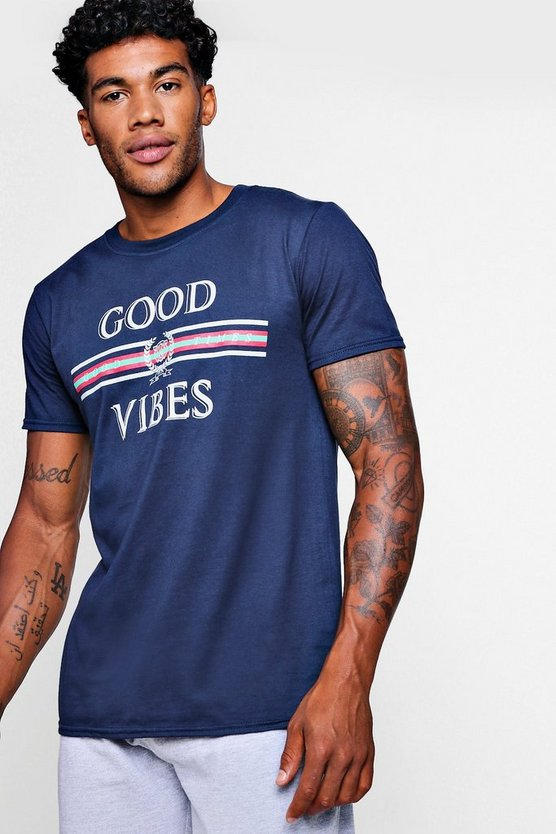Good Vibes Crew Neck T-Shirt
