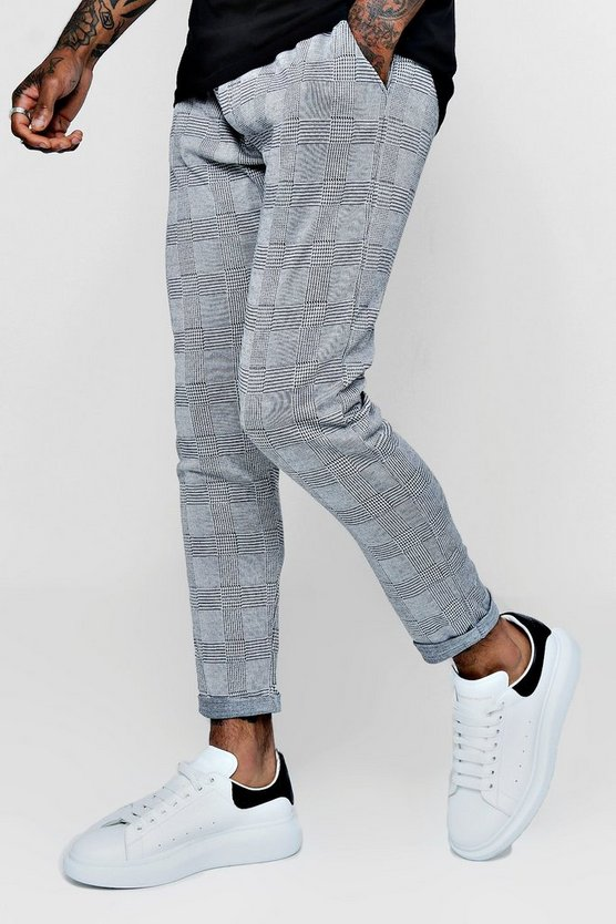 Prince of Wales Check Jogger Trouser