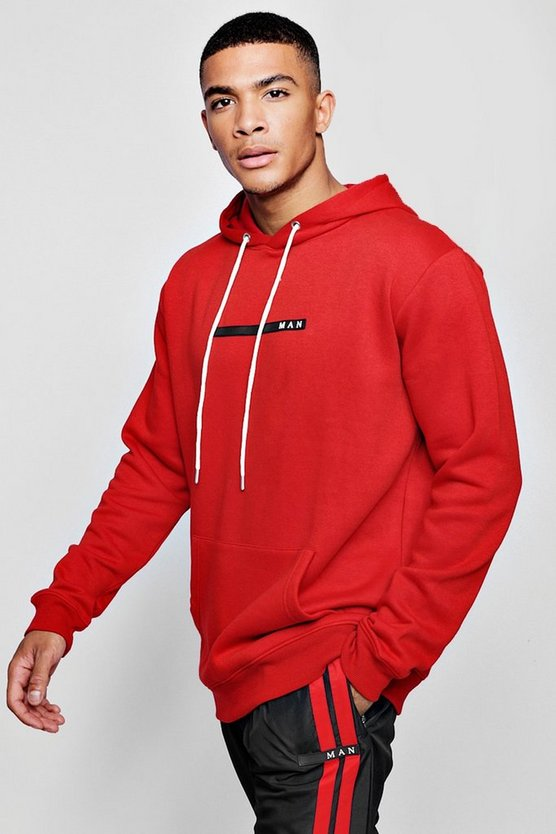 MAN Sport Hoodie With Back Print