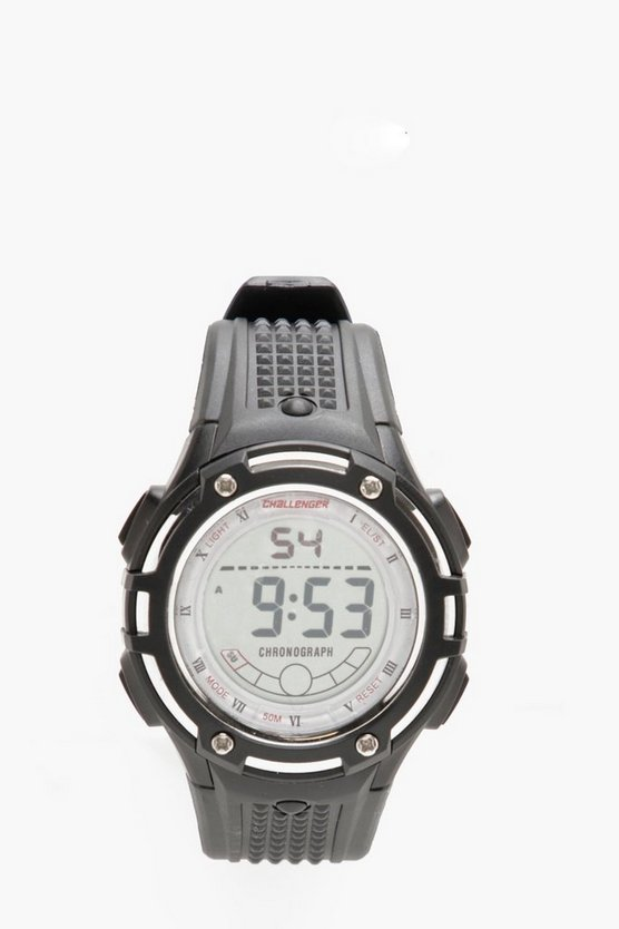 Challenger 50M Water Resistant Chunky Watch