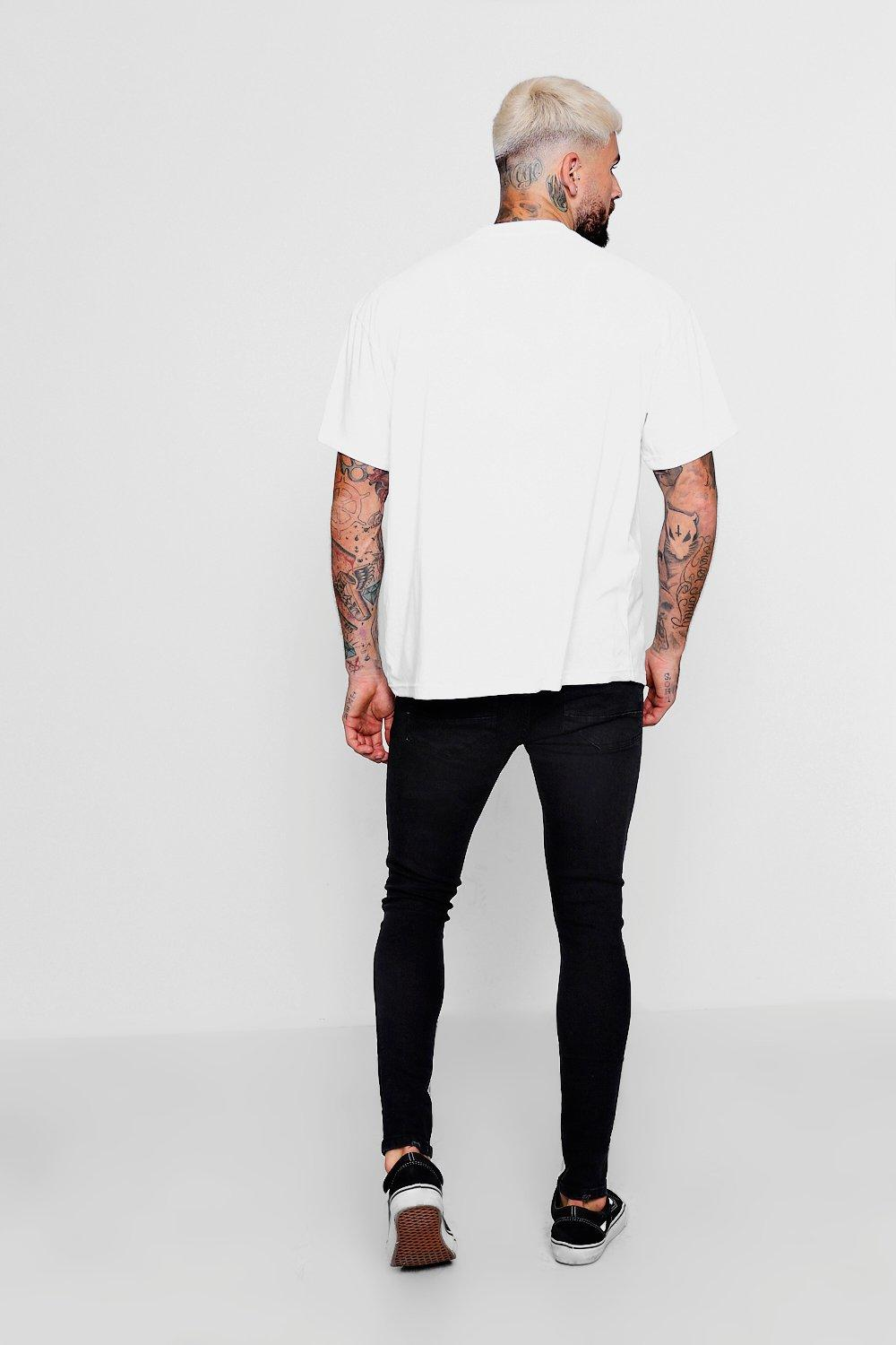 With black Knees Ripped Jeans washed Skinny Fit p1xqwBz