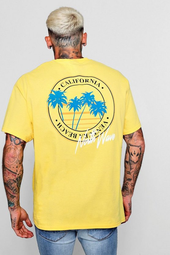 West Coast North Wave Oversized T-Shirt