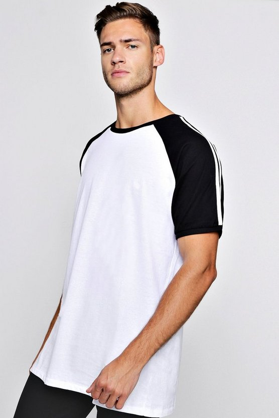Raglan T-Shirt With Side Tape
