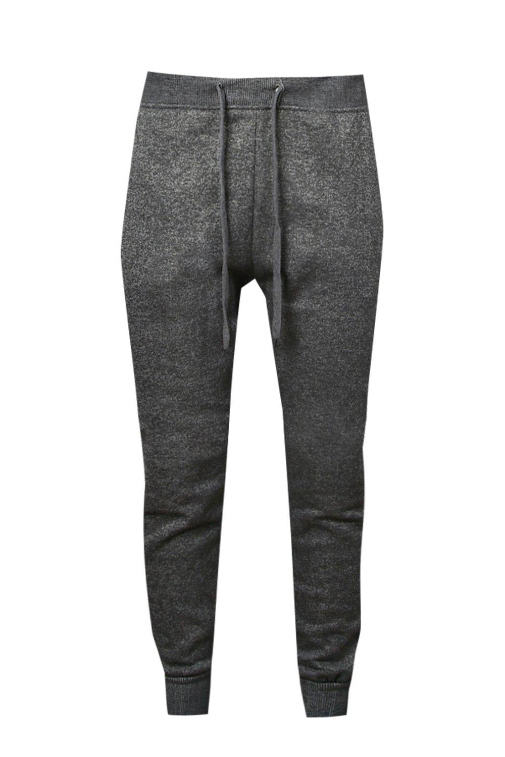 Joggers Melange Fleece Fit Skinny grey ww4HtSqv
